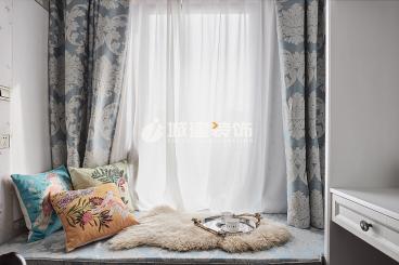 金都夏宫美式卧室效果图