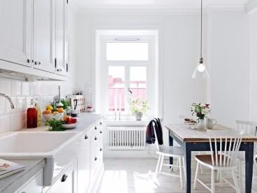 逸合山语城北欧风格样板间北欧厨房效果图