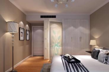 第一大道現代簡約臥室效果圖