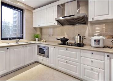 紫蘭公寓簡歐廚房效果圖