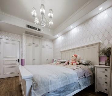 天成花园美式卧室效果图