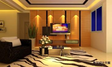 现代港式现代简约卧室效果图