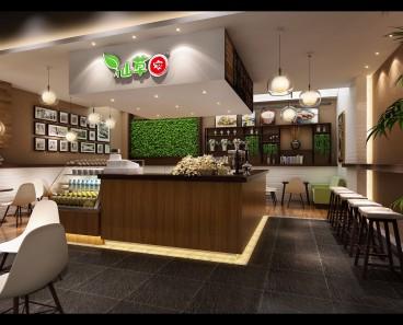 九方仙草蜜奶茶店