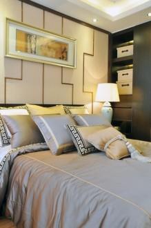 合景峰汇国际中式卧室效果图