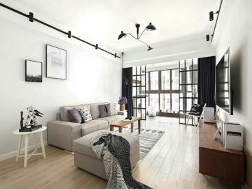 嘉年华青年城smart公寓北欧客厅效果图