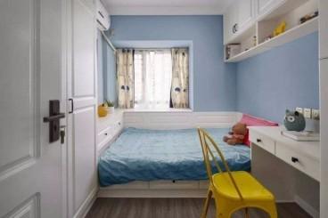 高新大都荟法式风格卧室效果图