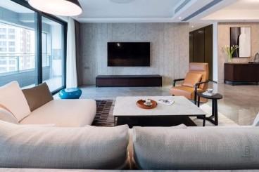 三迪凯旋枫丹现代简约客厅效果图