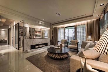 银和怡海天越湾后现代客厅效果图