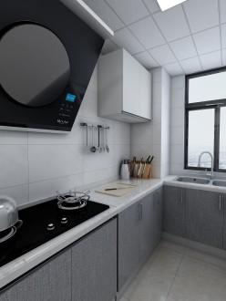 澳城苑現代簡約廚房效果圖