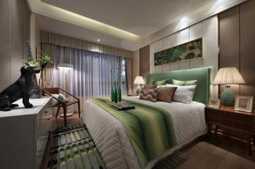 富有花园欧式古典卧室效果图