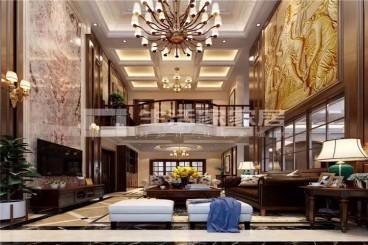 滨海航天城全包四室二厅装修效果图