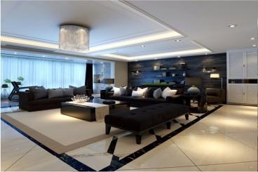 博轩园二室一厅现代简约装修效果图
