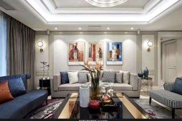 旺海公府欧式古典五室二厅装修效果图
