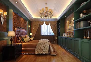 绿城御园欧式古典卧室效果图