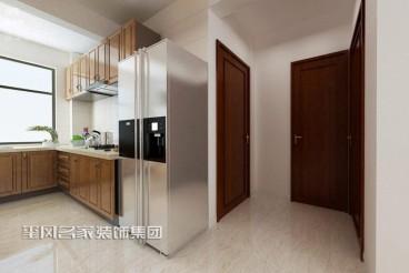 山水龙城中式厨房效果图