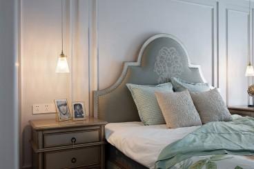 麒麟嘉园美式卧室效果图