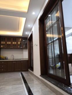 绿地21新城新中式厨房效果图