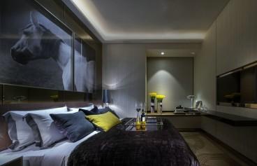 锐力领峰后现代卧室效果图