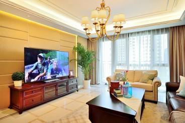 复地海上海美式客厅效果图