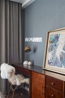 滨江西溪之星现代简约卧室效果图