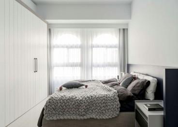 龍湖 現代簡約臥室效果圖