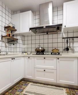 林溪康城現代簡約廚房效果圖