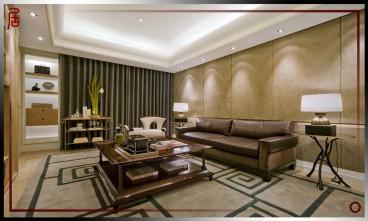 颐和九里新古典客厅效果图