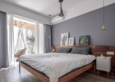 芳古园一区北欧卧室效果图