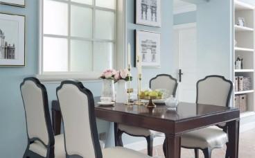 美林香槟小镇现代简约餐厅效果图