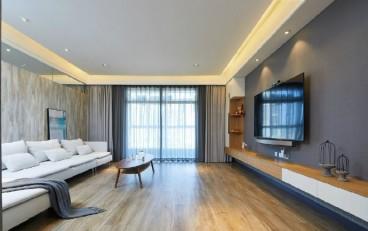 中城國際城現代簡約客廳效果圖