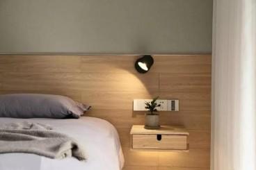 美伦环球港日式卧室效果图