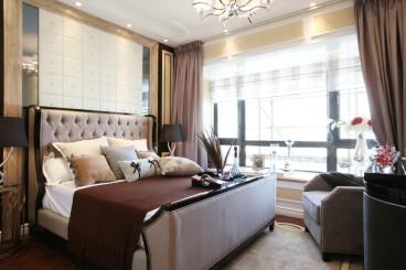 花樣年家天下歐式古典臥室效果圖