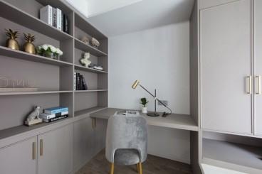 茂鑫公寓现代轻奢书房效果图