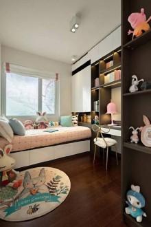 世界冠郡现代简约卧室效果图