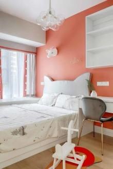 黄山新城北欧卧室效果图