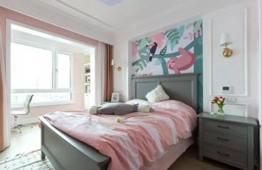 常发御龙山住宅美式卧室效果图