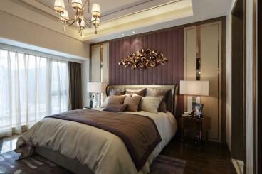 宏元国际港式卧室效果图