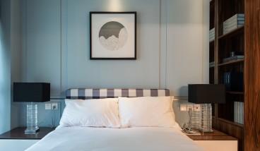 江汉人家后现代卧室效果图
