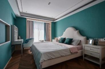 中豪润园新中式卧室效果图
