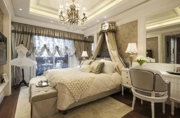 中海东郡欧式古典卧室效果图