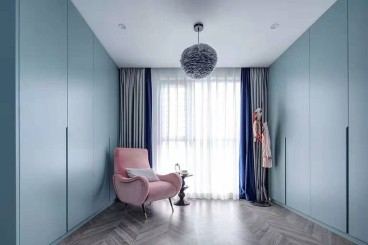 中核世纪广场法式风格卧室效果图