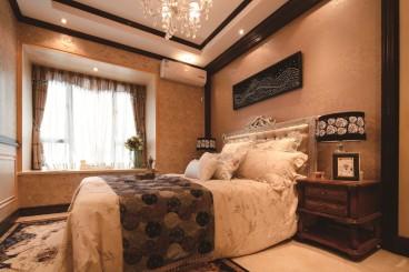 紫薇永和坊法式风格卧室效果图