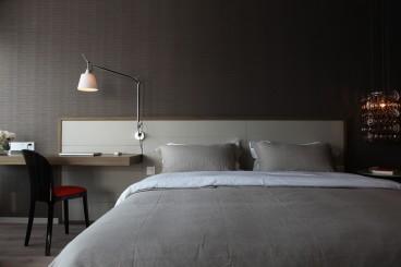 嘉福公寓现代简约卧室效果图