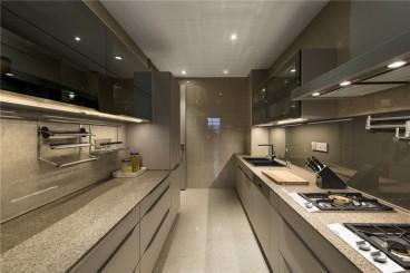 听雨观澜后现代厨房效果图