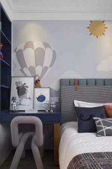 中建御景星城港式卧室效果图