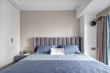 远洋大河宸章法式风格卧室效果图