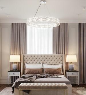 映翠豪庭欧式古典卧室效果图