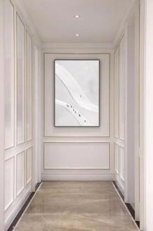 绿城翡翠城法式风格客厅效果图