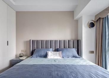 美的城法式风格卧室效果图