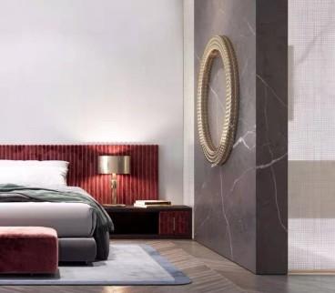绿地悦澜湾后现代卧室效果图